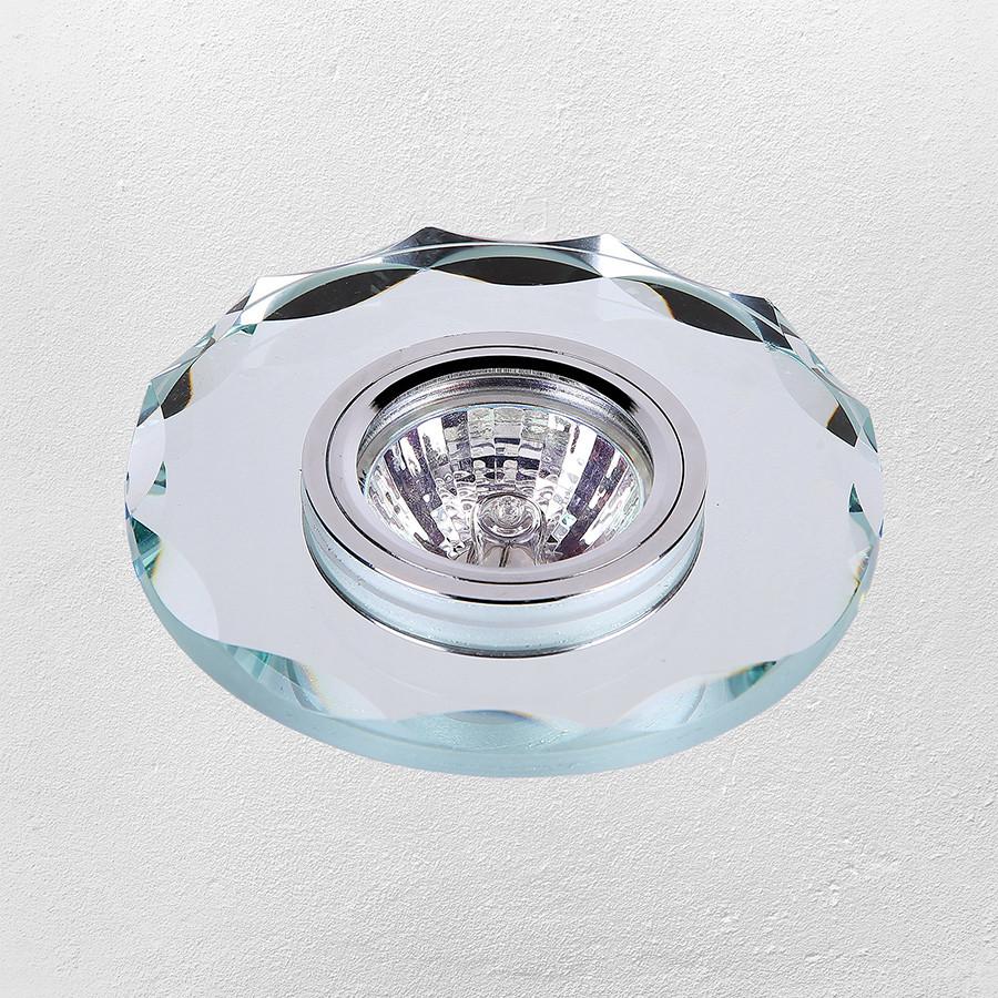 Точечный врезной светильник (модель 16- B056 зеркальный )