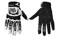 Мотоперчатки текстильные FOX M-365-BW