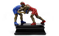 Статуэтка (фигурка) наградная спортивная Борьба Борцы C-3203-A11 (р-р 16х8х16см)