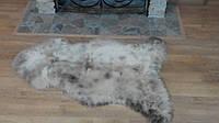Овечья шкура - овечьи шкуры - шкура овцы (ворс средней длины)Серая