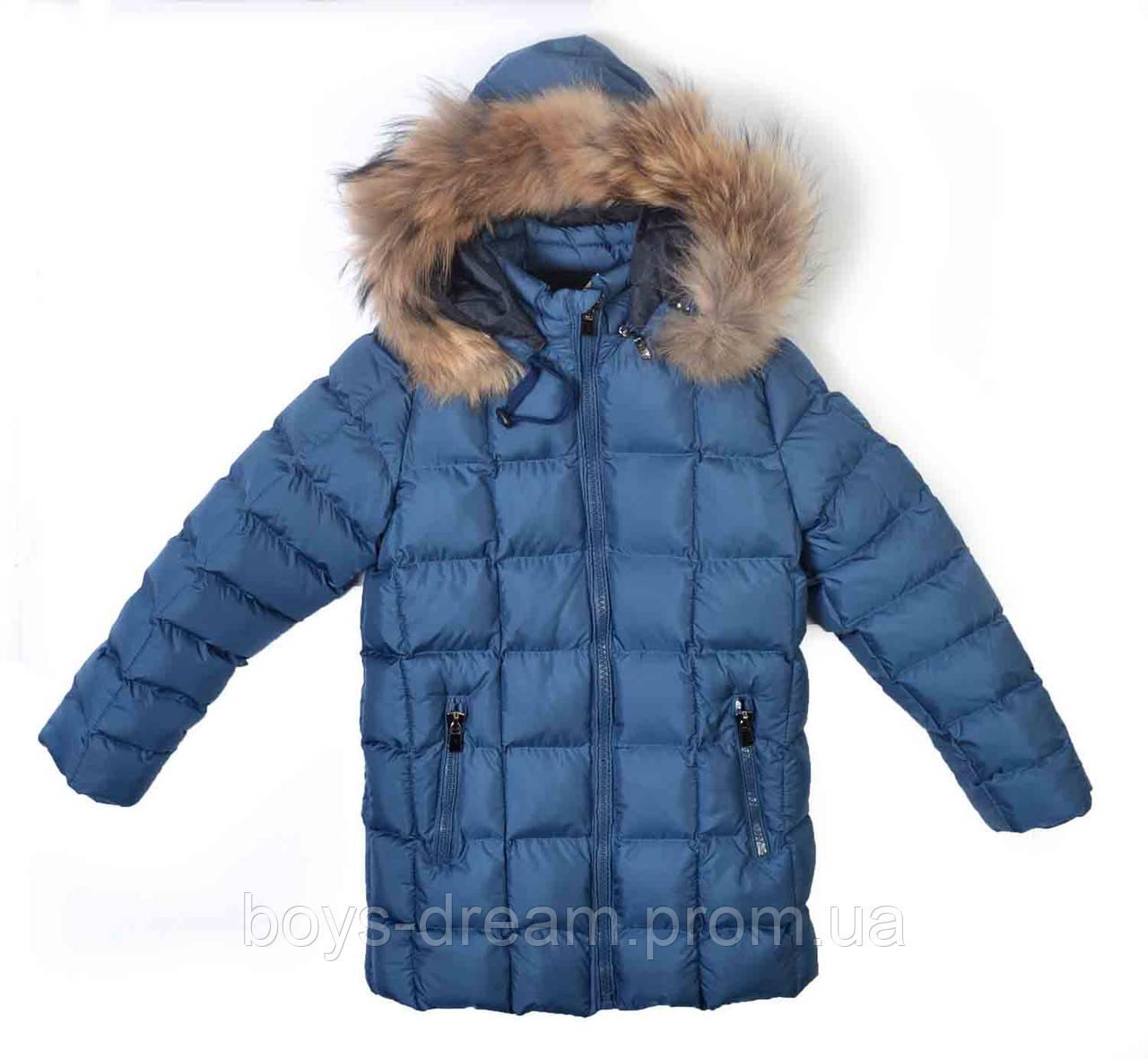 Зимняя куртка на мальчика 11-12 лет (152) Billionare