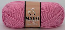 Дитяча пряжа, нитки для в'язання Nako Baby Super Bebe