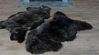 Овечья шкура - овечьи шкуры - шкура овцы (ворс средней длины)Коричневая