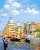 Картины по номерам 40×50 см. Лазурь Венеции