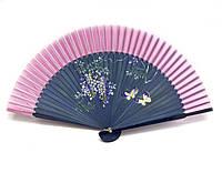 Женский веер бамбуковый