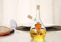 Емкость двойная для масла уксуса соевого соуса соусник 2 в 1 совмещенный