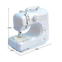 Портативная Швейная машина Michley LSS FHSM-505, мини швейная машина, портативная машина для шитья, машинка , машинка 505, швейная техника