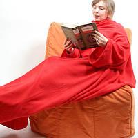 Плед с рукавами Snuggie, одеяло с рукавами, плед с рукавами, флисовый плед, одеяло на любой случай, покрывало