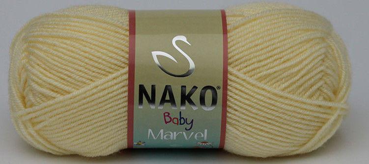 Дитяча пряжа, нитки для в'язання Nako Baby Marvel