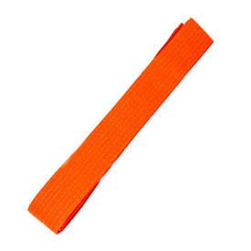 Пояс для кимоно оранжевый MB-280Or