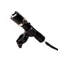 Фонарик с крепление для велосипеда BL -T 8628 XPE 30000W велосипедный фонарь, ручной фонарик, фонарь с подставкой, мощный фонарь, фара для велосипеда,