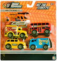 Городской транспорт Toy State Мини-техника Road Ripper 5 шт в наборе (41402)