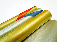 Двусторонняя Крафт-бумага ,  золото/серебро