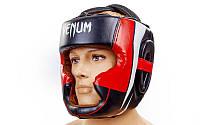 Шлем боксерский с полной защитой FLEX VENUM BO-5339-BKW