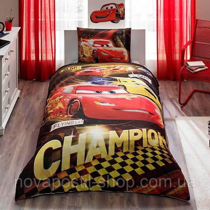 Комплект постельного белья CARS CHAMPIONS