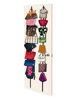 Органайзер - вешалка для сумок Bag Rack органайзер для сумок, хранение сумок, подвесной органайзер, органайзер для шапок, органайзер бег рак,