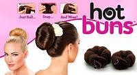 Hot buns валики для создания объемной прически заколка валик, сделать прическу бублик, объемная прическа, валик для объема, валик резинка для волос,