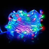 Светодиодная гирлянда 400 multi LED 15 метров, гирлянда led, подсветка елки, герлянда праздничная, гирлянда ля украшения, герлянда универсальная