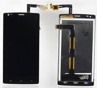 Дисплей для Fly iQ4505 Quad ERA Life 7 + touchscreen, чёрный