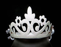 Белоснежная корона, высота 7 см