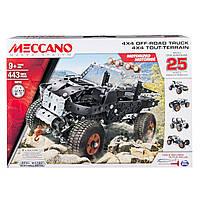 Конструктор металлический Meccano Автомобиль 443 элемента (25 моделей)