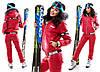 Теплый  женский лыжный костюм Mocshino
