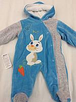 """Теплый комбинезон для детей """"Бамби"""". Детский комбинезон. Одежда для детей."""