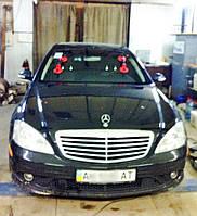 Лобовое стекло на Mercedes W221 S (ветровое, заднее, боковое)