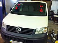 Лобовое стекло на VW Transporter T5 (ветровое, заднее, боковое)