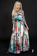 Длинное нарядное платье