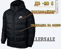 Зимняя тёплая мужская куртка Парка Nike, фото 1