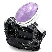 Аметист, серебро 925, кольцо, 156КА