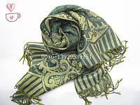 Женский шарф зимний (пашмина)