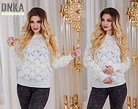 Ажурный свитер в2015 (ГЛ)