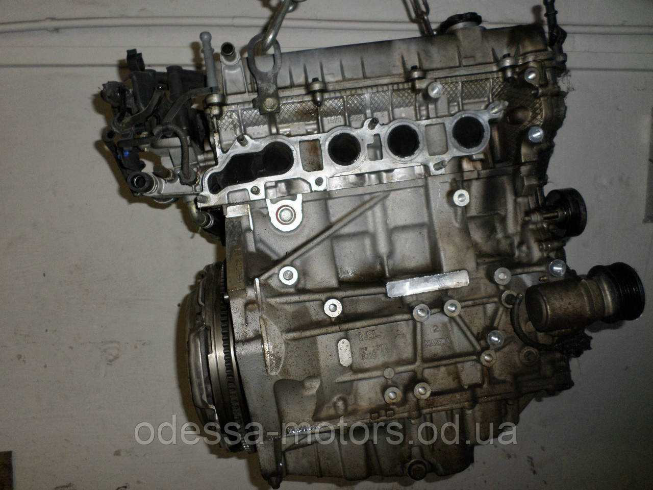 Двигатель Mazda 6 1.8 MZR, 2007-today тип мотора L813