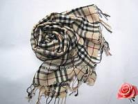 """Женский шарф зимний (пашмина) """"Шотландский стиль"""""""