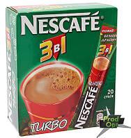 Кава розчинна Нескафе 3в1 Турбо 20 стіків