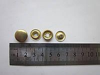 Кнопка каппа 15 мм золото