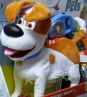 Интерактивная собака Макс на управлении, жизнь домашних животных Secret Life of Pets Max Оригинал из США
