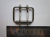 Пряжка для ремня 40 мм никель, фото 2