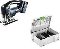 Лобзик маятниковый аккумуляторный PSBC 420 Li 5,2 EB-Set Festool 201386