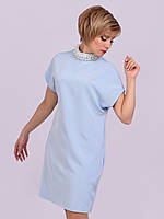 Нарядное Платье Диана голубое