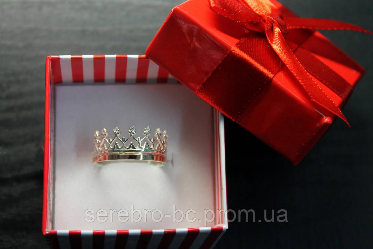 Кольцо корона арт 122