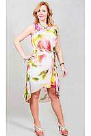 Платье с ассиметричным низом