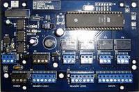 Контролер керування доступом, 8000 перепусток, 1000 подій, корпус металевий