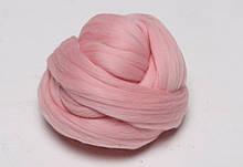 Толстая Пряжа 100% шерсть мериноса. MAXI Розовый