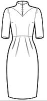 Пошив женского платья
