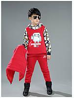 Теплый спортивный костюм тройка Red