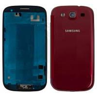 Комплект панелей Samsung i9300 красных Оригинал