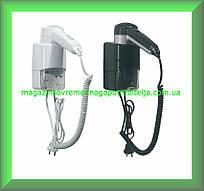 Фен для сушіння волосся для готельних номерів MEDICLINICS SC0030CS (чорний) Іспанія